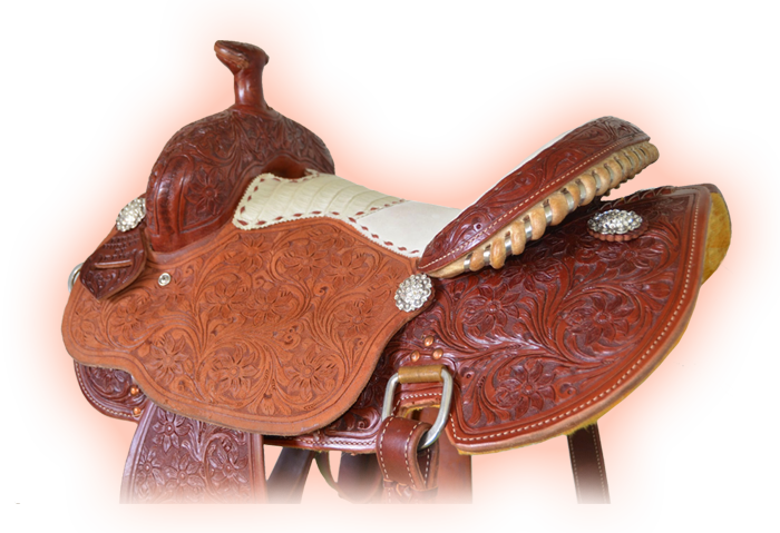 Libby Hurley Barrel Saddle